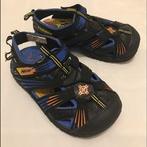 Toddler Nerf Sandals. Size 10